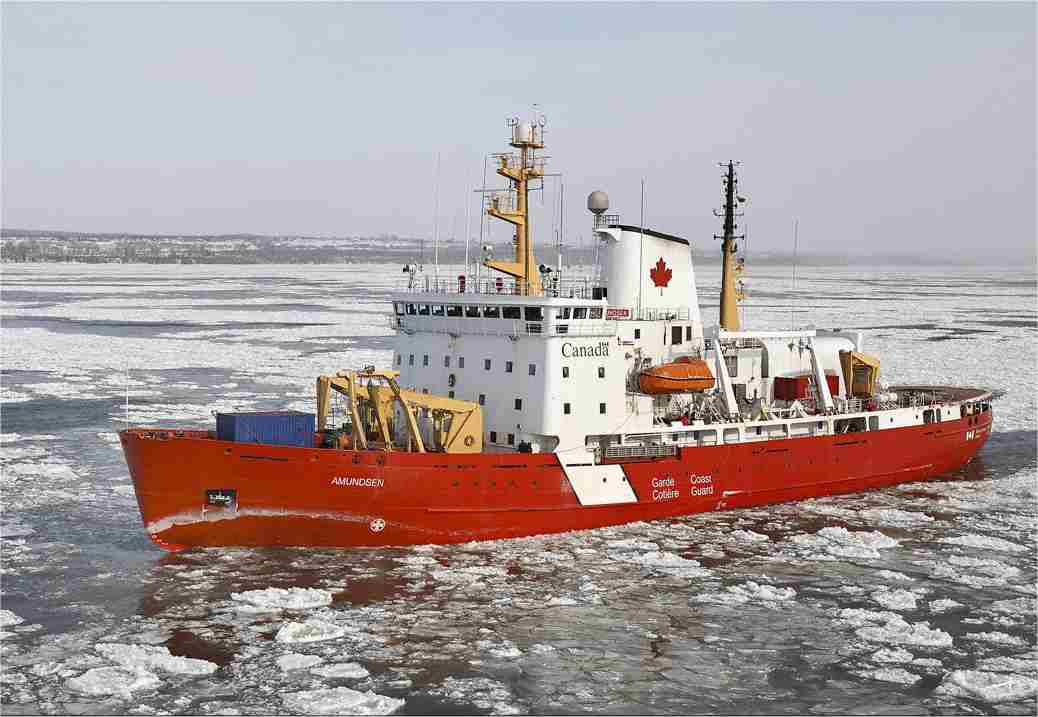 CCGS Amundsen - Click to enlarge