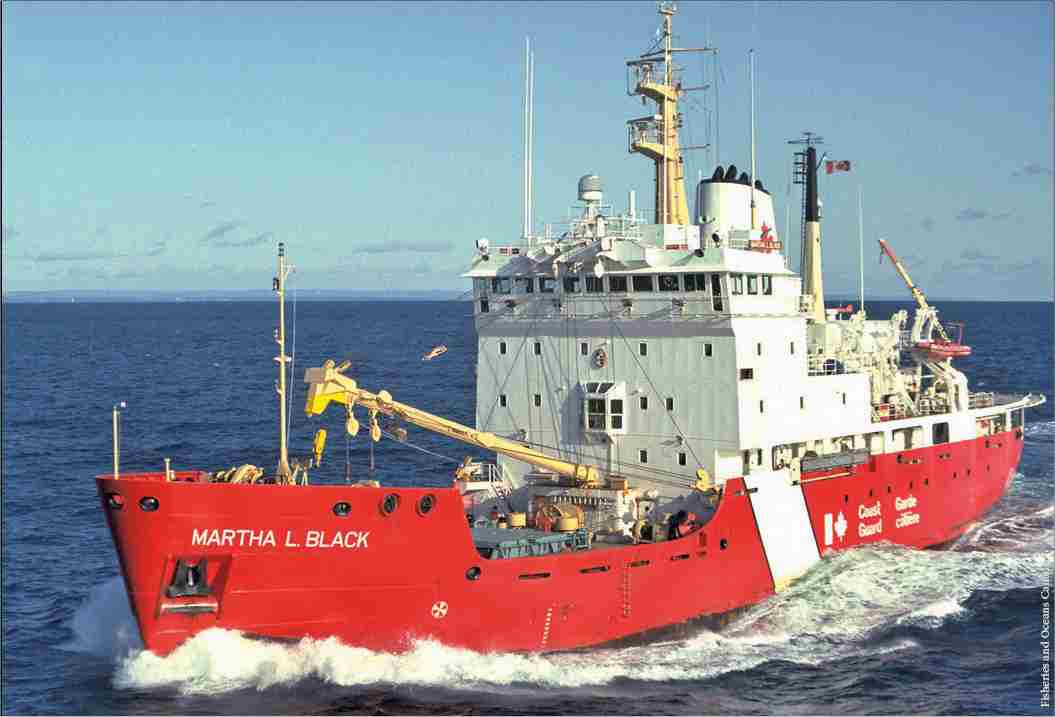 CCGS Martha L Black - Click to enlarge