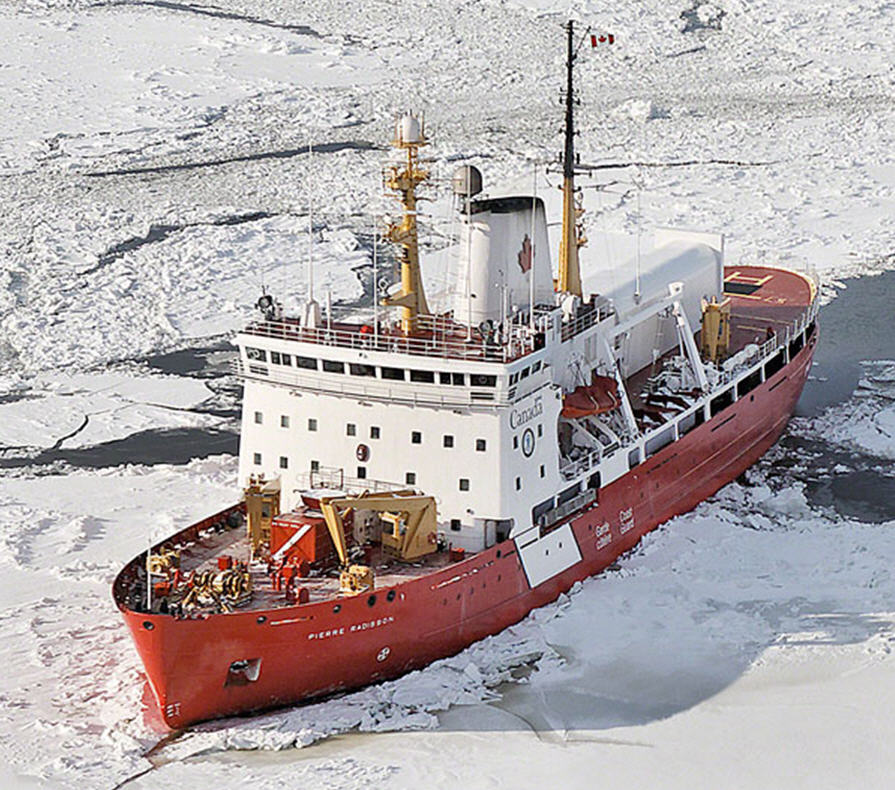 CCGS Pierre Radisson - Click to enlarge